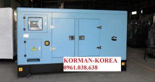 Máy phát điện Korman 100kVA – Hàn Quốc