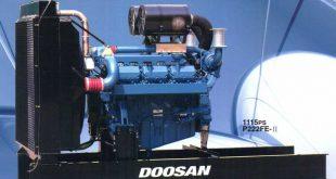 Máy phát điện Doosan 365 KVA liên tục/ 406 KVA dự phòng.