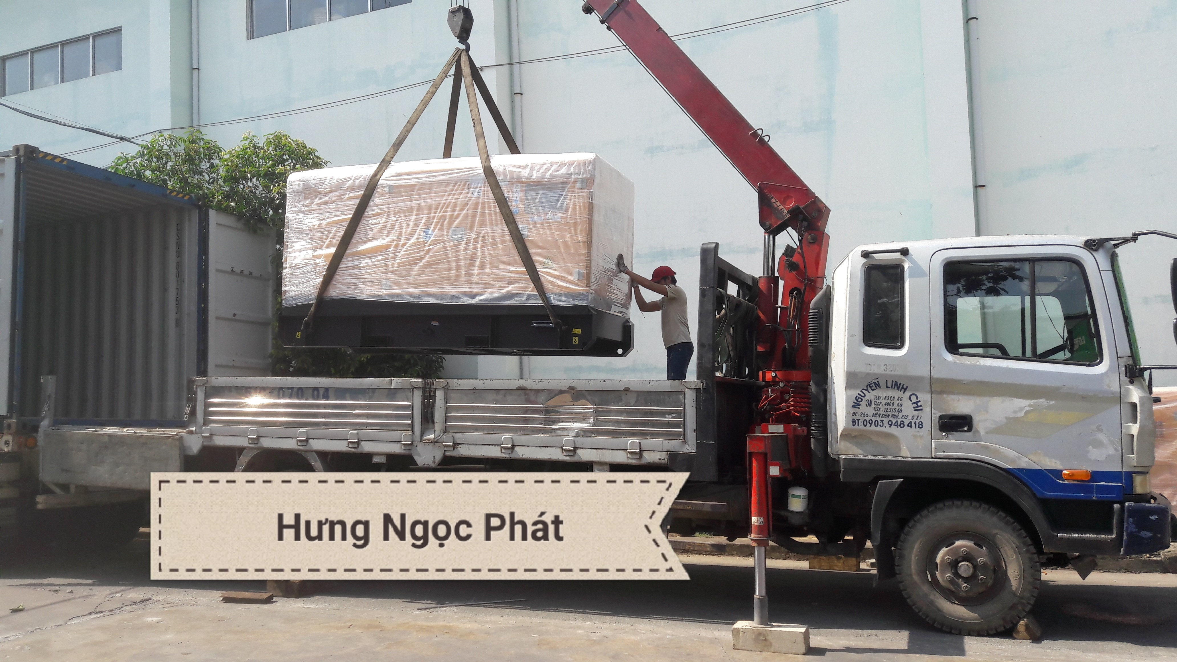 Máy Phát Điện Cummins 100KVA (Mỹ)- DỰ ÁN: Công ty TNHH Một Thành viên Tư vấn Xây dựng Phước Tấn